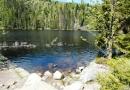 Poledník, jezera Prášilské a Laka 13